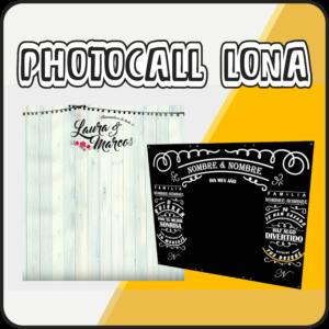 Photocall personalizado
