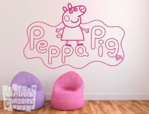 Vinilo decorativo de Peppa Pig
