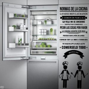 vinilo decorativo normas de la cocina