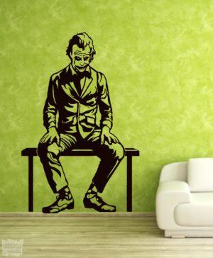 Vinilo decorativo del Joker, PelículaBatman.