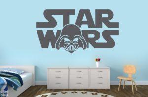 Vinilo decorativo de Star wars, Darth vader. La guerra de las galaxias.