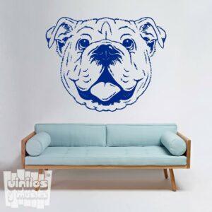 Vinilo decorativo Bulldog ingles 1.