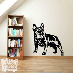 Vinilo decorativo bulldog francés 2.
