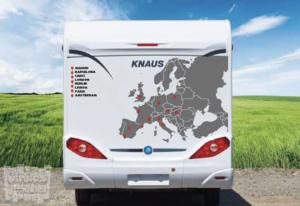 Mapa de Europa + puntos de ubicación y nombres de ciudades a elegir...