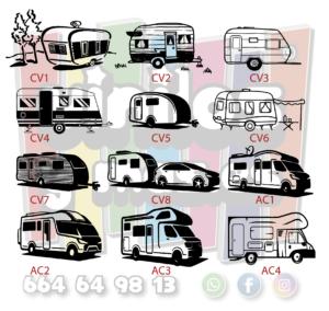 dibujos caravanas