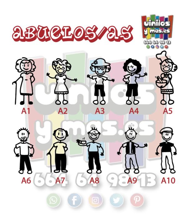 abuelos/as - vinilosymas.es