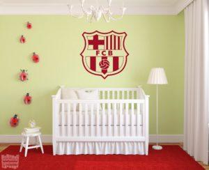 Vinilo decorativo Escudo Futbol Club Barcelona