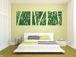 Bambú cuadros - vinilosymas.es