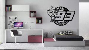 Vinilo decorativo logo Marc Marquez 93