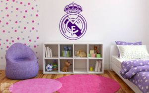 Vinilo decorativo escudo Real Madrid cf