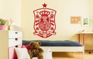Vinilo decorativo escudo selección española