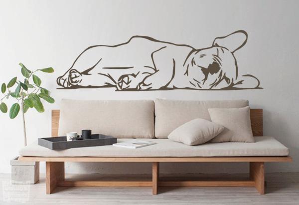 Vinilo decorativo Bulldog Francés 12