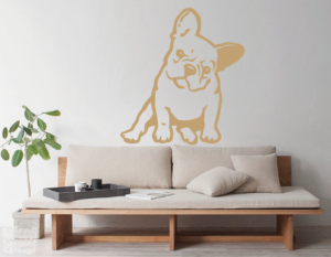 Vinilo decorativo bulldog frances