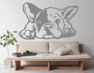 Vinilo decorativo Bulldog Francés 7
