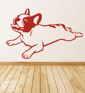 Vinilo decorativo Bulldog Francés 8