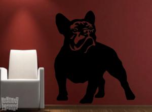 Vinilo decorativo Bulldog Francés 9