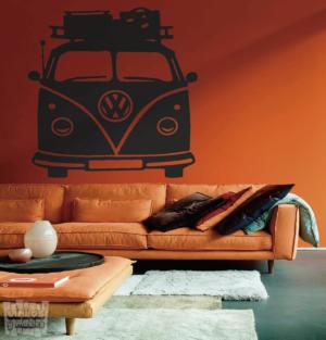 "Vinilo decorativo Furgo maletas ""Volkswagen"""