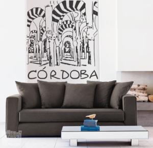 "Vinilo decorativo de Córdoba ""Mezquita"""