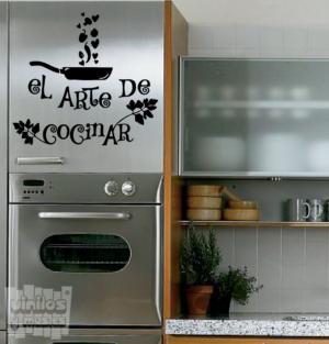 Vinilo decorativo: El arte de cocinar
