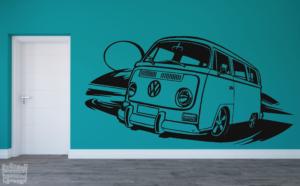 Vinilo decorativo Furgo Volkswagen combi