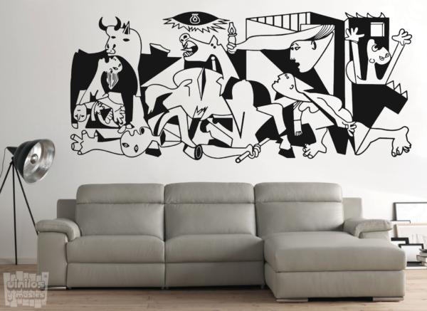 Vinilo decorativo del Guernica Picasso