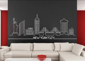 Vinilo decorativo New york city