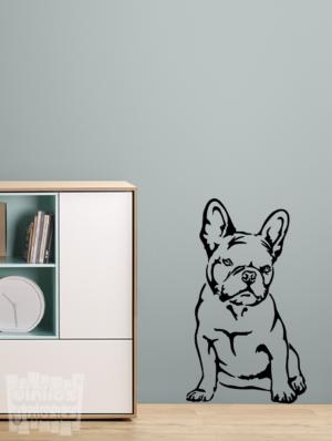 Vinilo decorativo Bulldog Francés