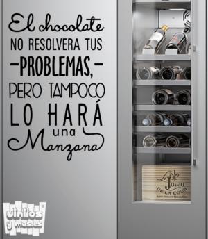 El chocolate no resolvera tus problemas... - vinilosymas.es