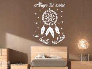 Vinilo decorativo Atrapa tus sueños y hazlos realidad