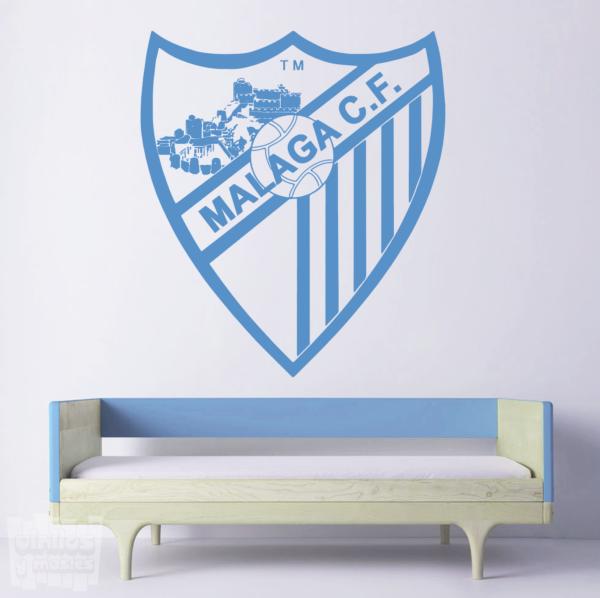 Vinilo decorativo Escudo Málaga Club de Fútbol.