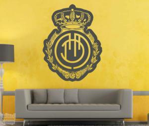 Vinilo decorativo Escudo Real Club Deportivo Mallorca.
