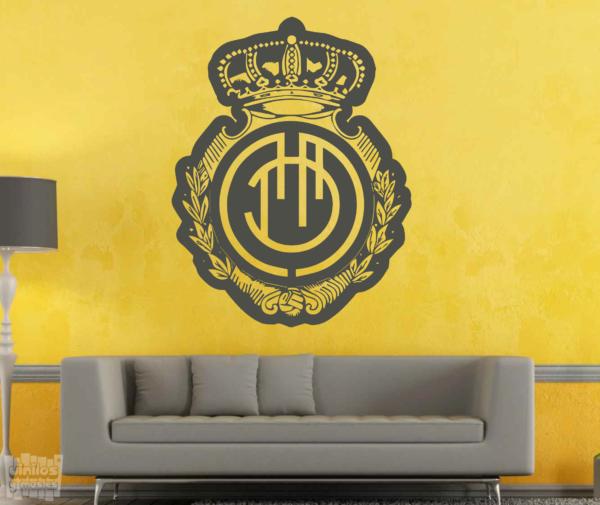 Vinilos Decorativos Mallorca.Escudo Real Club Deportivo Mallorca