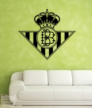 Vinilo decorativo Escudo Real Betis Balompié.