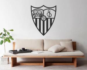Vinilo decorativo Escudo Sevilla Futbol Club.