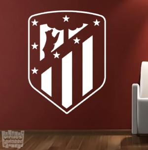 Vinilo decorativo escudo Club Atlético de Madrid