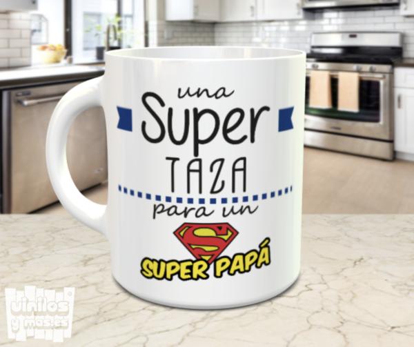 taza super papa - vinilosymas.es