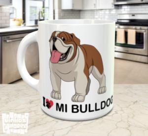 tazaI love mi bulldog - vinilosymas.es