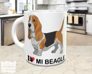 taza i love mi beagle - vinilosymas.es