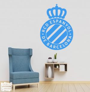 escudo RCD Espanyol de Barcelona - vinilosymas.es
