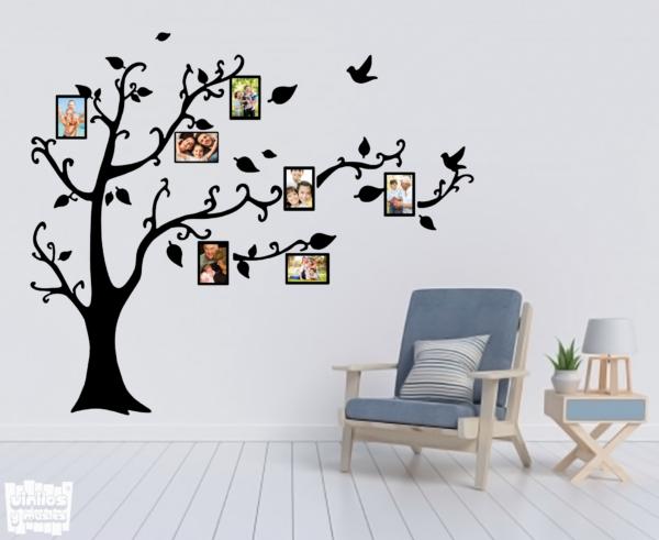 árbol fotos familia - vinilosymas.es