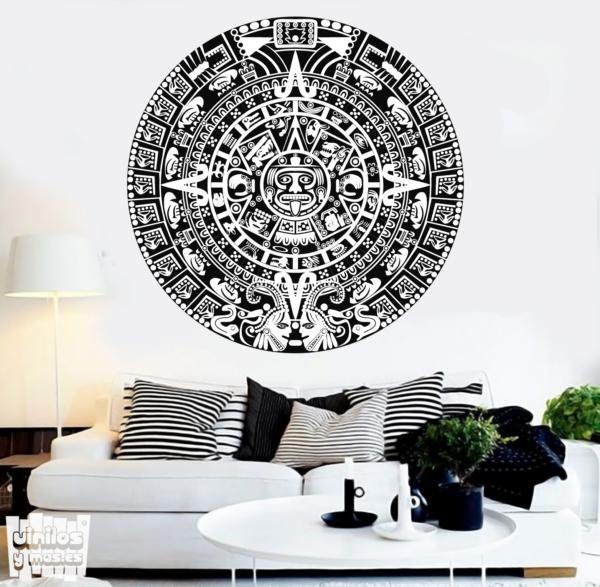 calendario azteca - vinilosymas.es