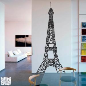 Vinilo decorativo Torre Eiffel.