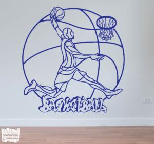 Vinilo decorativo Basketball