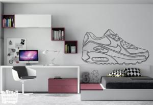 vinilo decorativo Nike AIR MAX 90