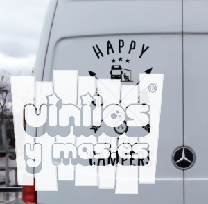 Happy little campers - vinilosymas.es