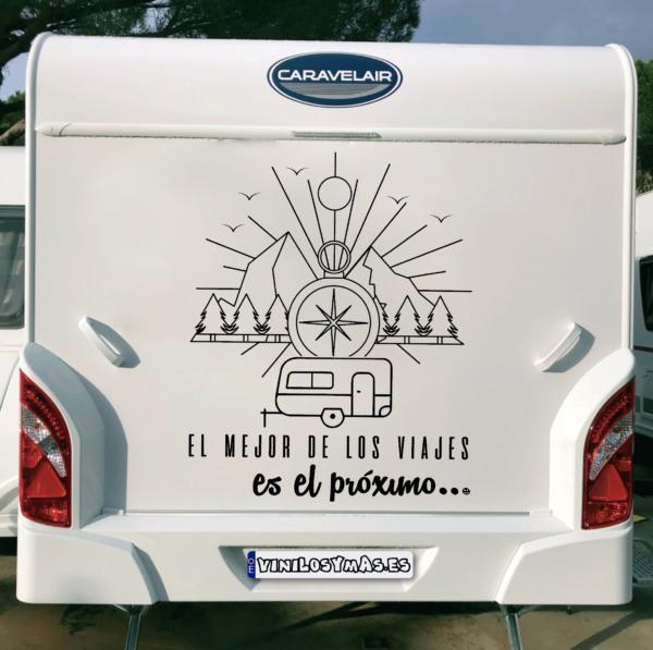 """El mejor de los viajes es el próximo """"caravana"""" - vinilosymas.es"""